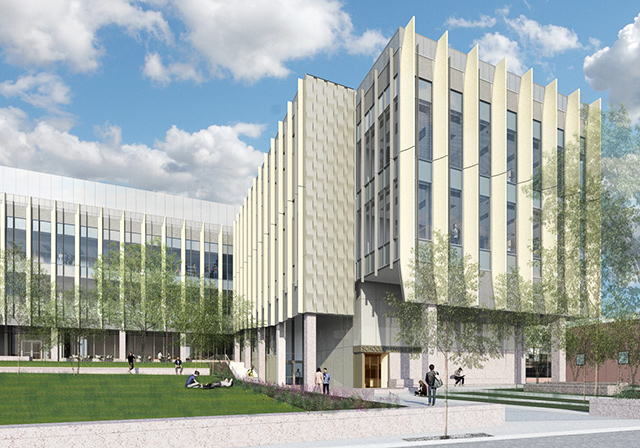 Rendering of Brown School of Engineering, courtesy of Kieran Timberlake Associates. Used as supporting image for Paul McGilly's class in the tailored experience track for Project Delivery at AU 2017