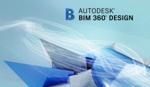 Image of BIM 360 Design logo on a background