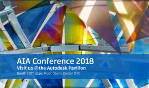 Visit the Photoelastic Pavilion at Autodesk's Booth at AIA 2018 in the Javits Center in NYC.